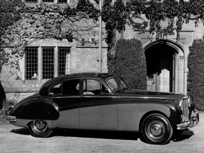 1959 Jaguar Mark-IX retro luxury t wallpaper