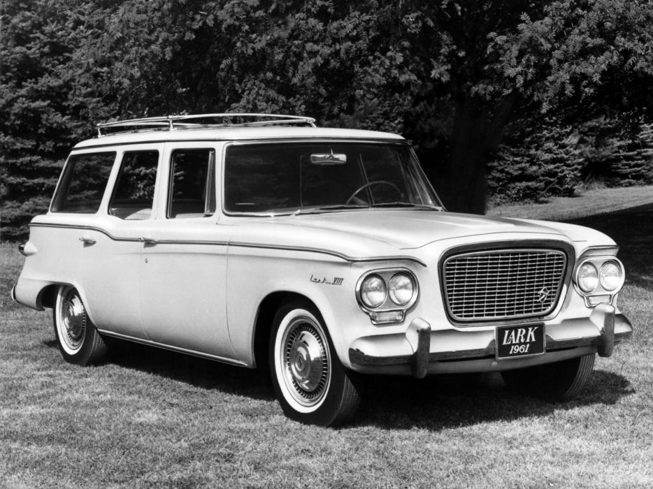 1961 Studebaker Lark VIII Regal StationWagon P6 classic wallpaper