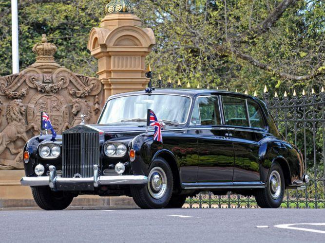 1963 Rolls Royce Phantom V Park Ward Limousine luxury classic wallpaper