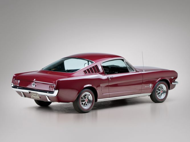 1965 Ford Mustang Fastback muscle classic f wallpaper