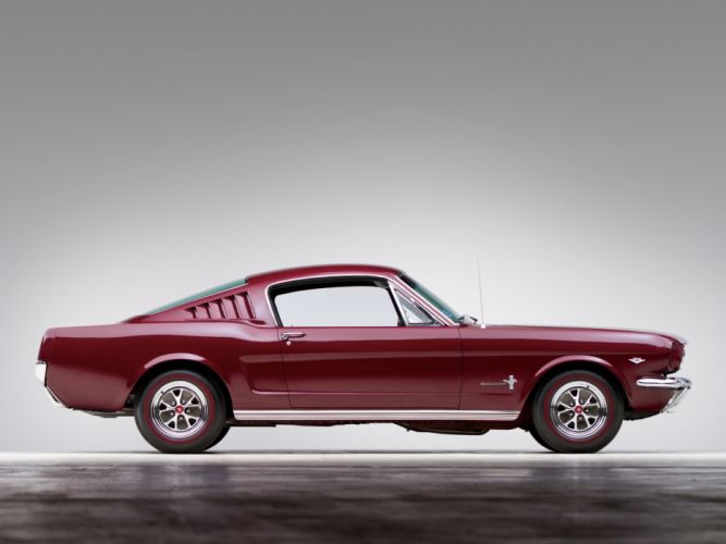 1965 Ford Mustang Fastback muscle classic d wallpaper
