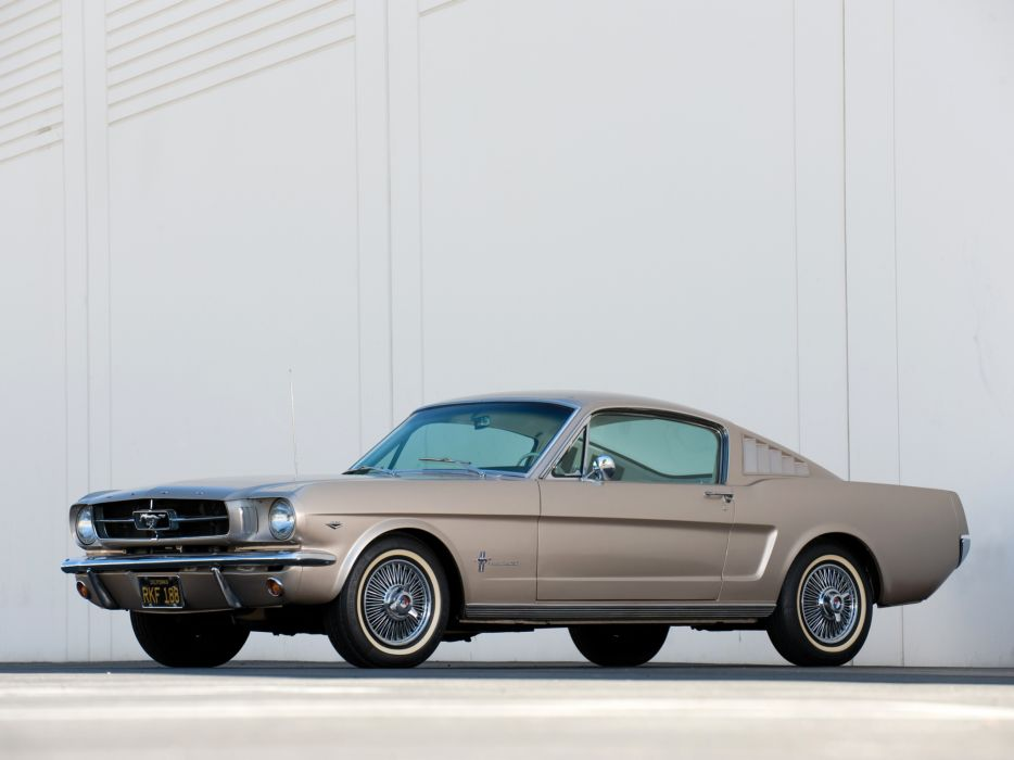 1965 Ford Mustang Fastback muscle classic   e wallpaper