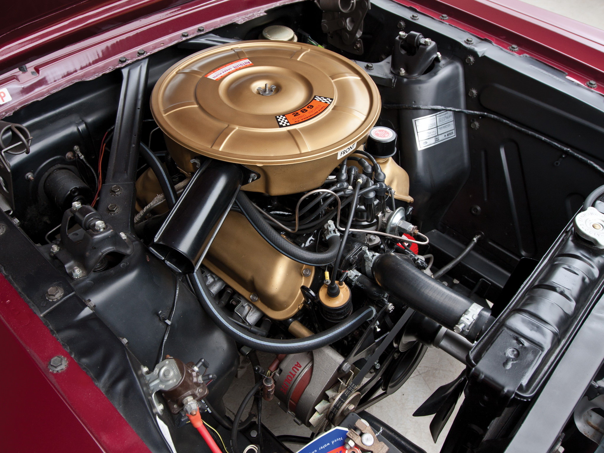 1965 mustang fastback engine - photo #6