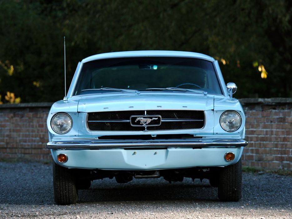 1965 Ford Mustang Fastback muscle classic m wallpaper