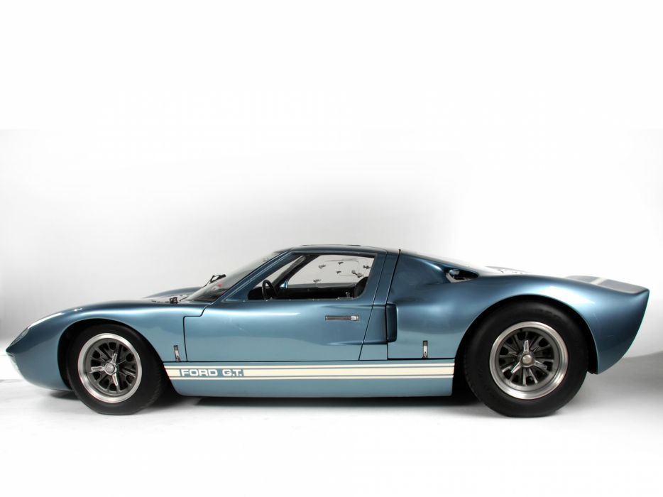 1966 Ford GT40 supercar classic g-t muscle    f wallpaper
