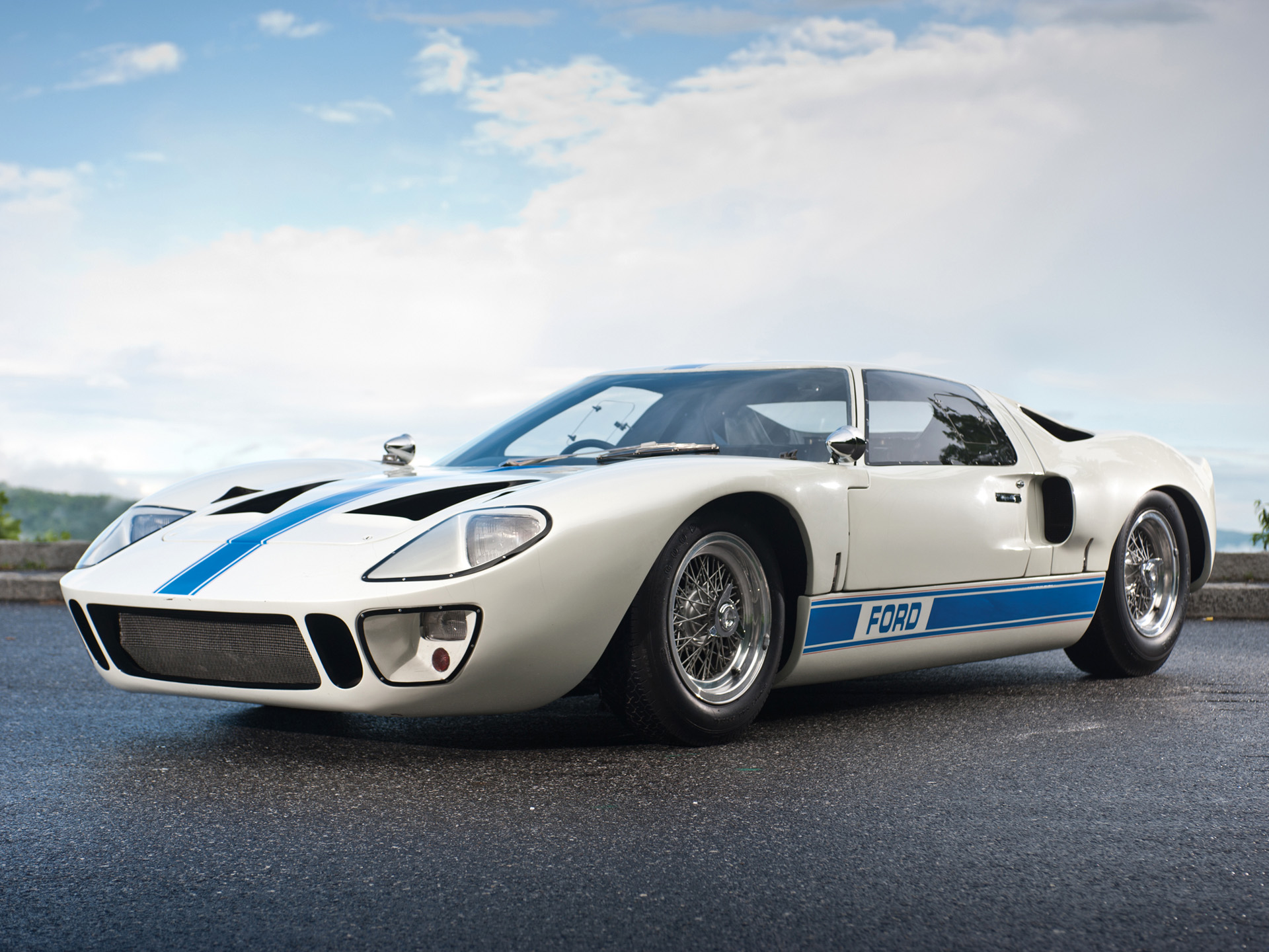 1966 Ford GT40 supercar classic gt muscle fd wallpaper
