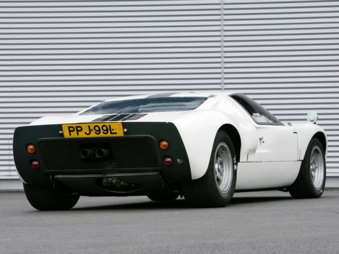 1966 Ford GT40 supercar classic g-t muscle fe wallpaper