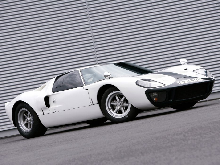 1966 Ford GT40 supercar classic g-t muscle  d wallpaper
