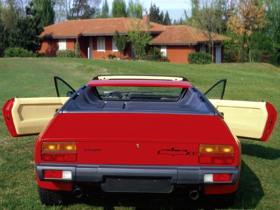1981 Lamborghini Jalpa P350 supercar classic   g wallpaper
