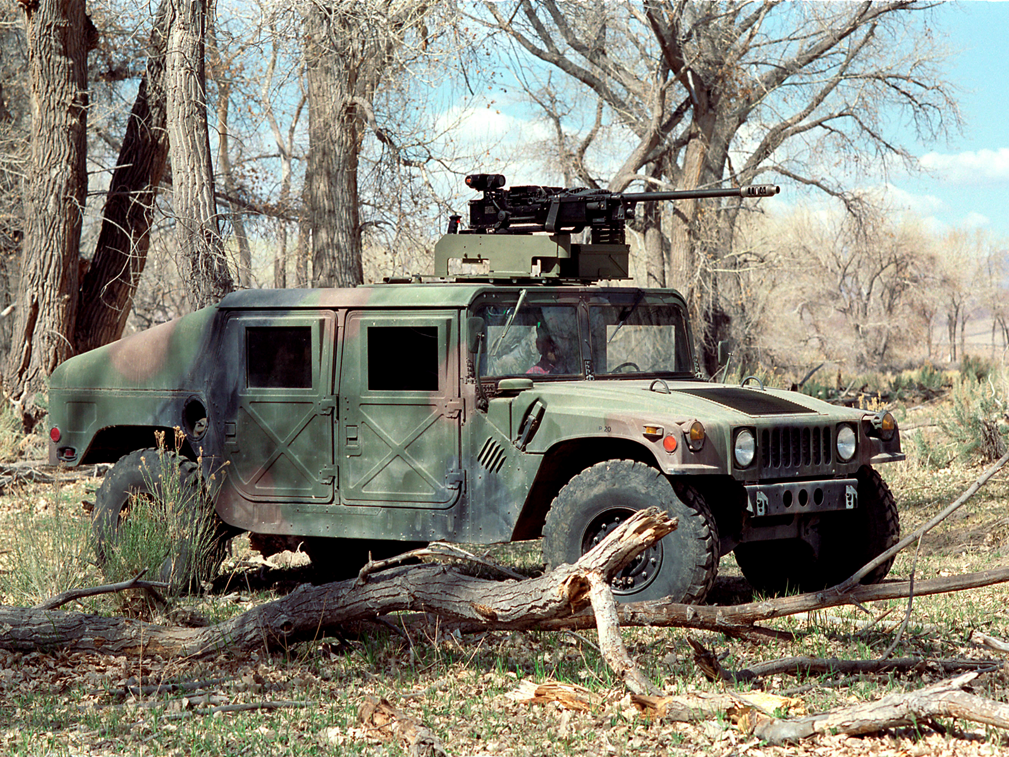 1984 HMMWV M1025 hummer 4x4 suv military weapon gun wallpaper
