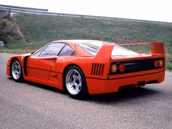 1987 Ferrari F40 classic supercar gd wallpaper