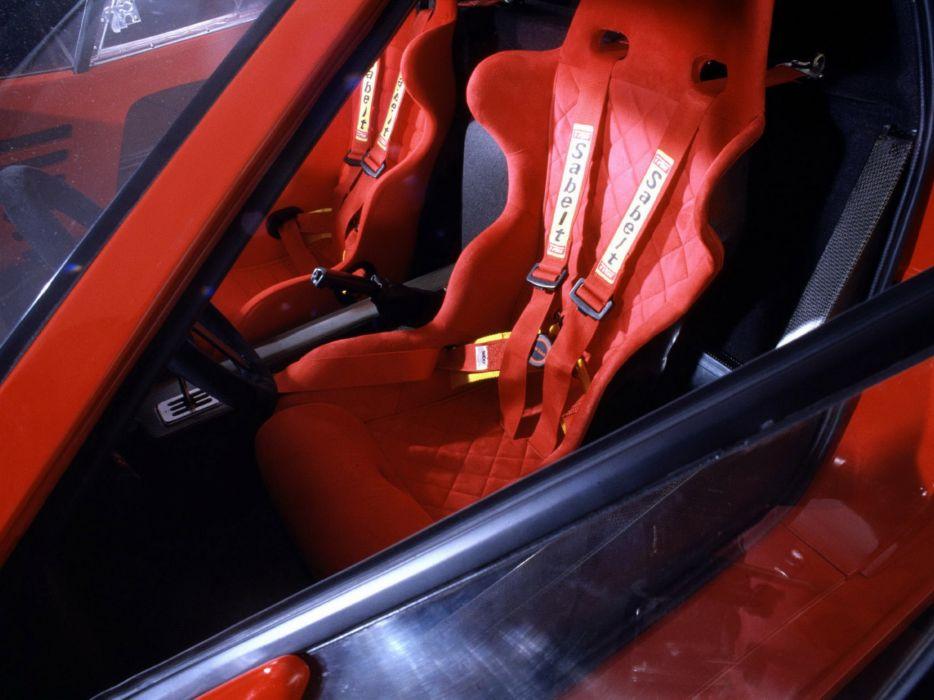 1987 Ferrari F40 classic supercar interior        g wallpaper