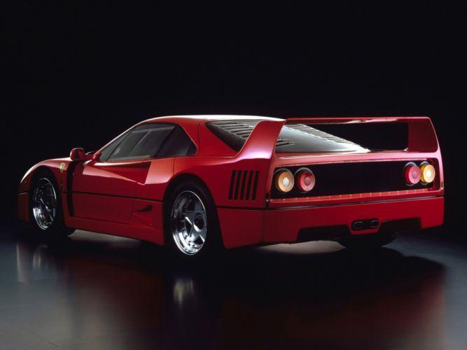 1987 Ferrari F40 classic supercar gj wallpaper