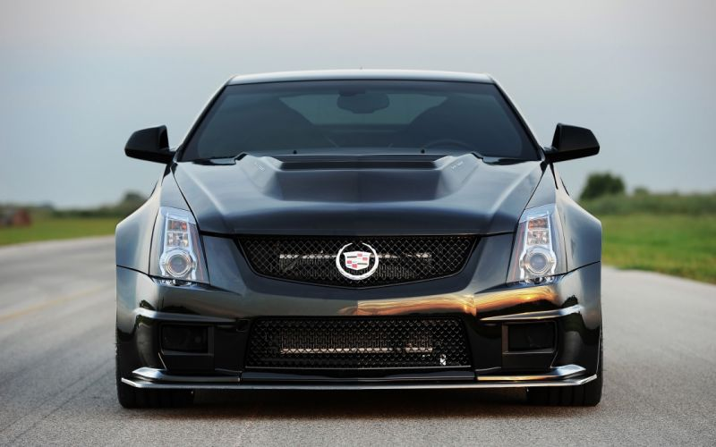 2012 Hennessey Cadillac VR1200 Twin Turbo Coupe tuning muscle wallpaper