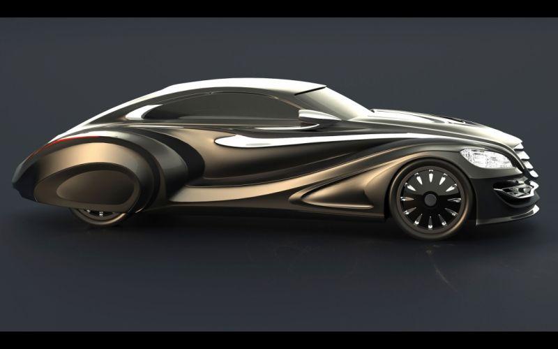 2013 Gray Design Nouvair supercar t wallpaper