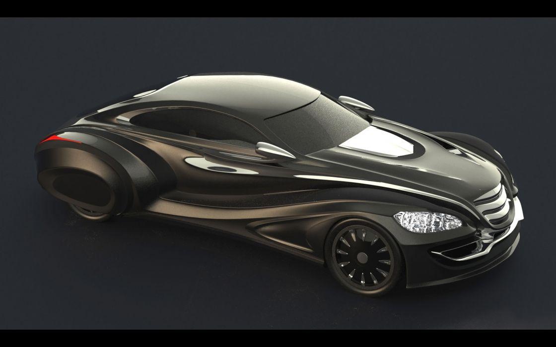 2013 Gray Design Nouvair supercar wallpaper