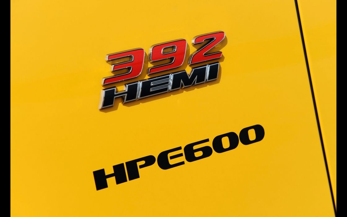 2013 Hennessey Dodge Challenger SRT8 392 Yellow Jacket muscle logo hemi      g wallpaper