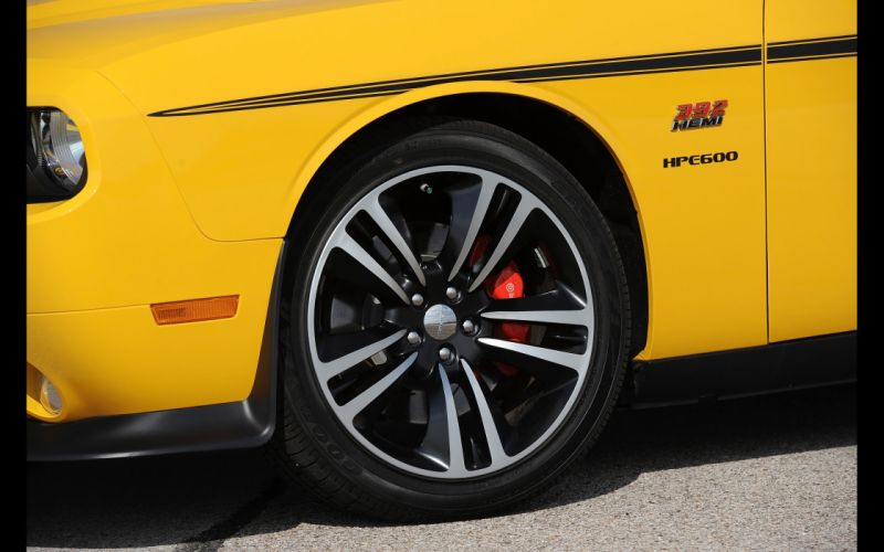 2013 Hennessey Dodge Challenger SRT8 392 Yellow Jacket muscle wheel g wallpaper