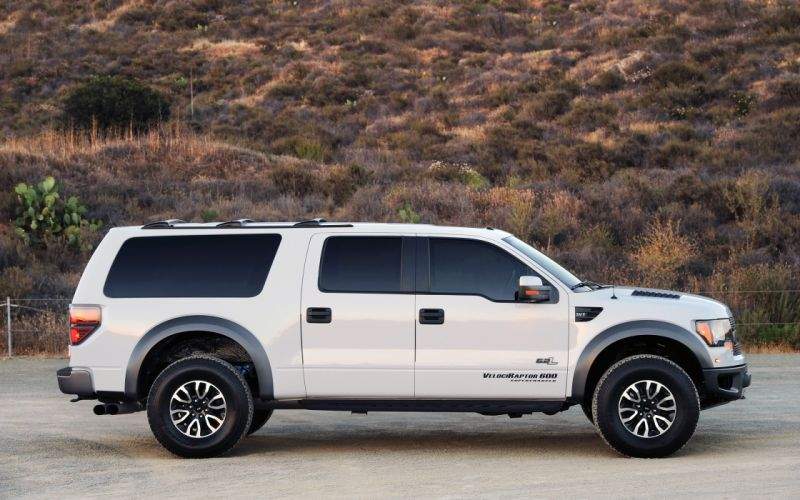 2013 Hennessey Ford Velociraptor SUV F-150 muscle d wallpaper