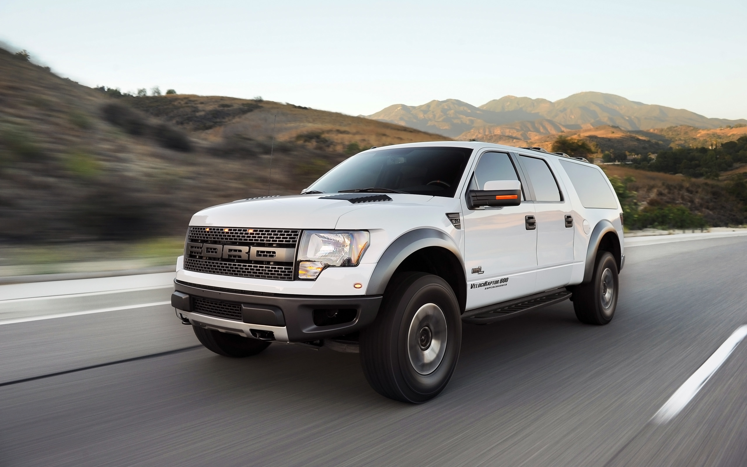 2013 Hennessey Ford Velociraptor SUV F-150 muscle d wallpaper   2560x1600   154379   WallpaperUP