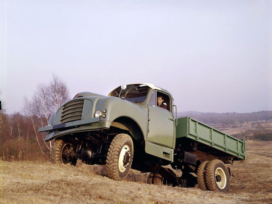 Citroen Type-55 Version-46 4x4 pickup offroad   fn wallpaper