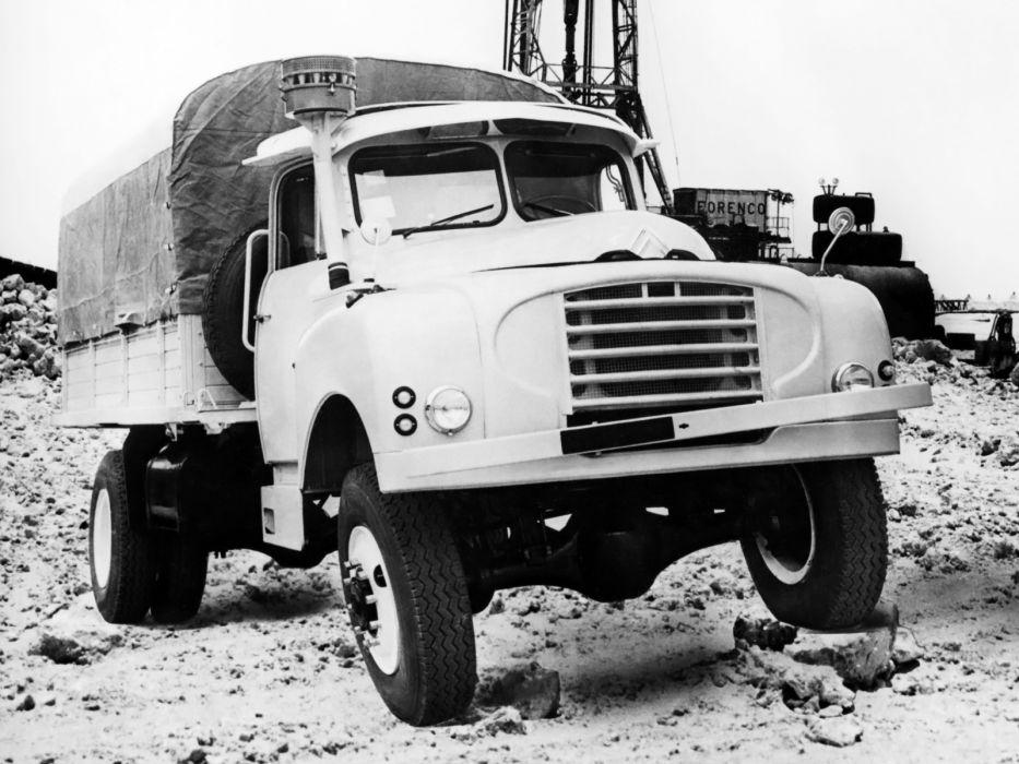 Citroen Type-55 Version-46 4x4 pickup offroad  f wallpaper