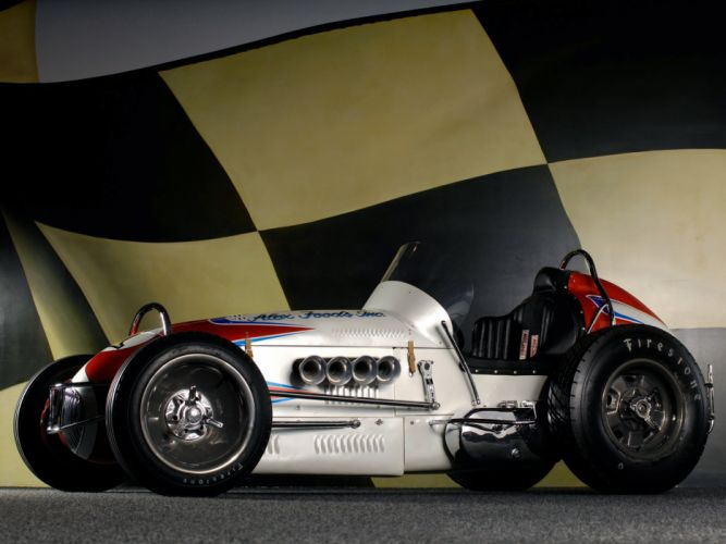 1957 McCluskey Sprint Car Tamale Wagon race racing retro wheel h wallpaper