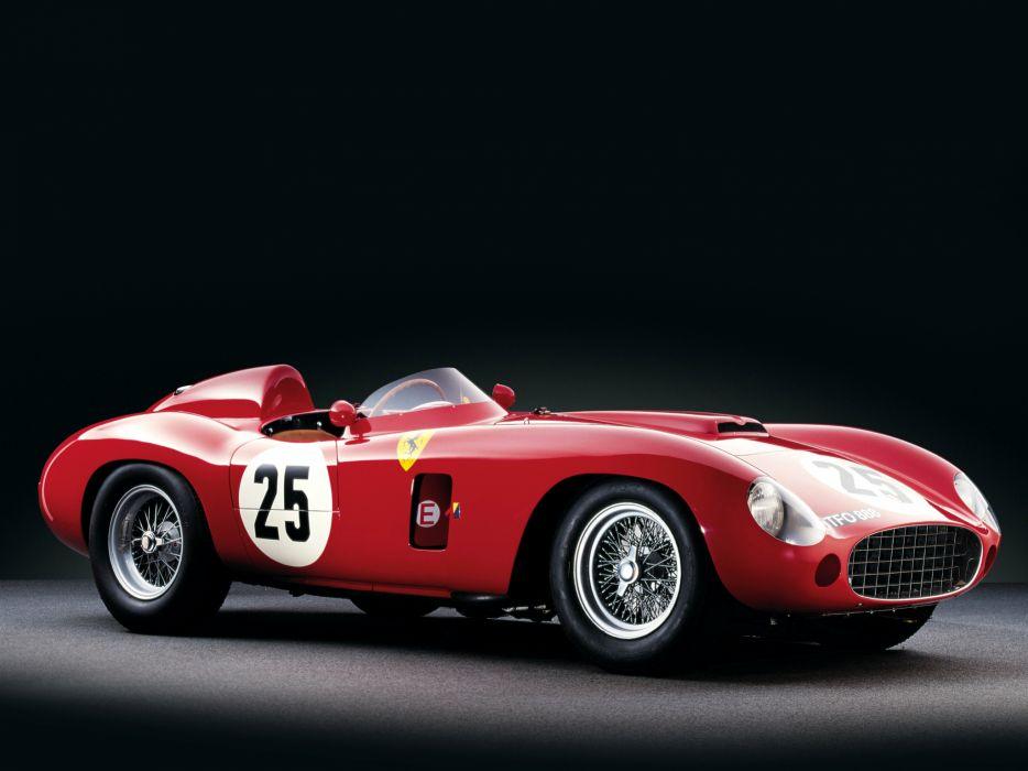 1956 Ferrari 860 Monza race racing supercar retro      h wallpaper
