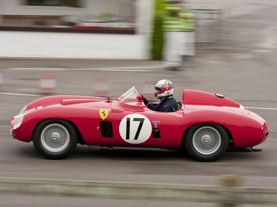 1956 Ferrari 860 Monza race racing supercar retro   g wallpaper