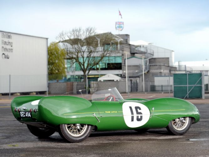 1956 Lotus Eleven Series-I race racing retro h wallpaper