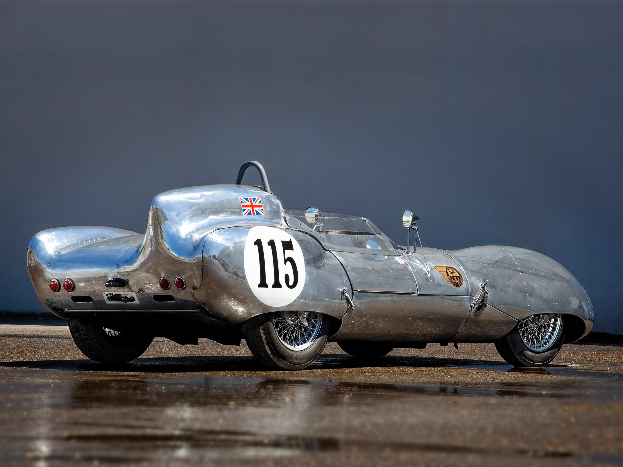 1956 Lotus Eleven Series I Race Racing Retro G Wallpaper