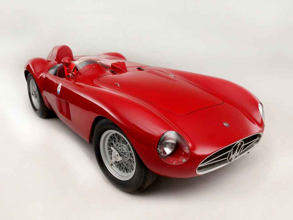1956 Maserati 300S race racing supercar retro   g wallpaper