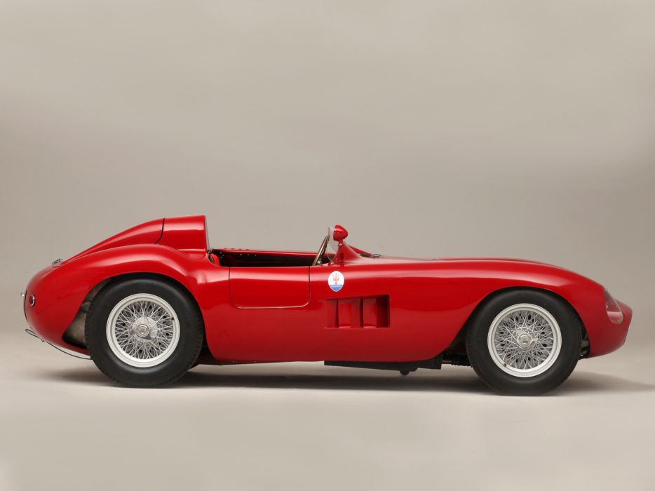 1956 Maserati 300S race racing supercar retro   hg wallpaper