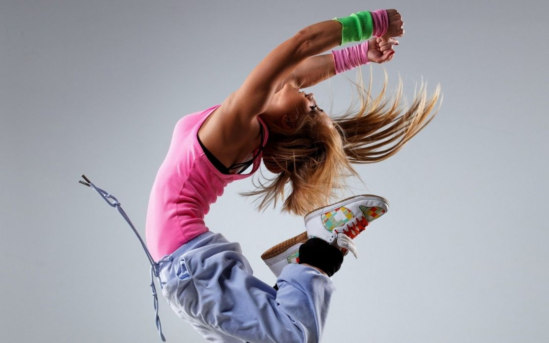Dance Girl Redhead wallpaper