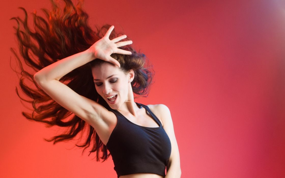 Woman Girl Beauty Dance Long Hair wallpaper