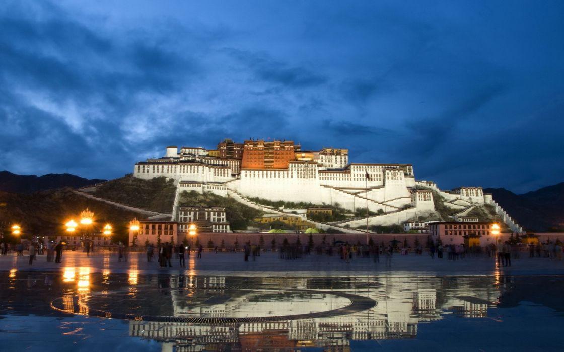 Potala Tibet China wallpaper