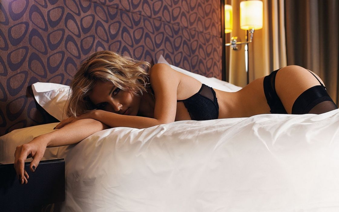 Girls and Their Beds wallpaper