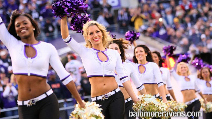 BALTIMORE RAVENS nfl football cheerleader t wallpaper