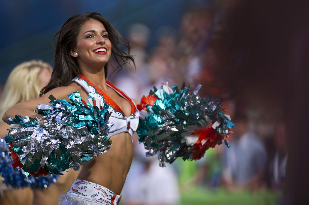 MIAMI DOLPHINS nfl football cheerleader       r wallpaper