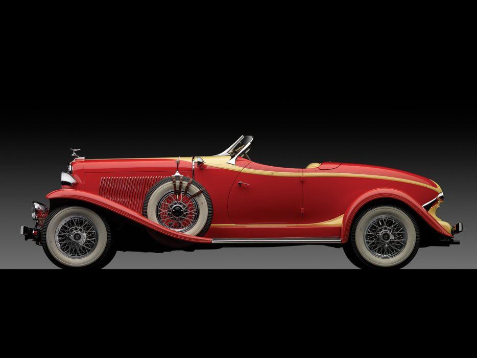 1933 Auburn V12 161A Boattail Speedster luxury retro    f wallpaper