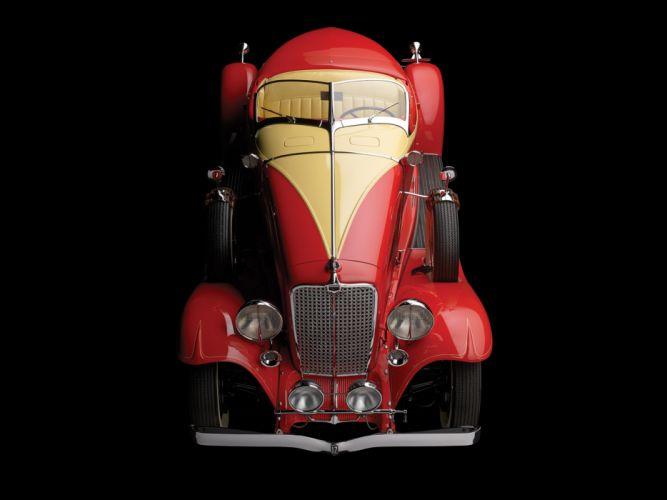 1933 Auburn V12 161A Boattail Speedster luxury retro wallpaper