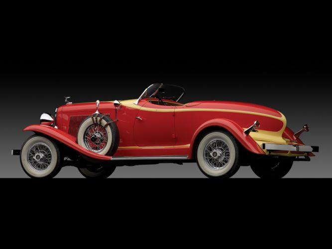 1933 Auburn V12 161A Boattail Speedster luxury retro fs wallpaper