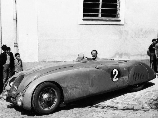 1936 Bugatti Type 57g supercar retro race racing d wallpaper