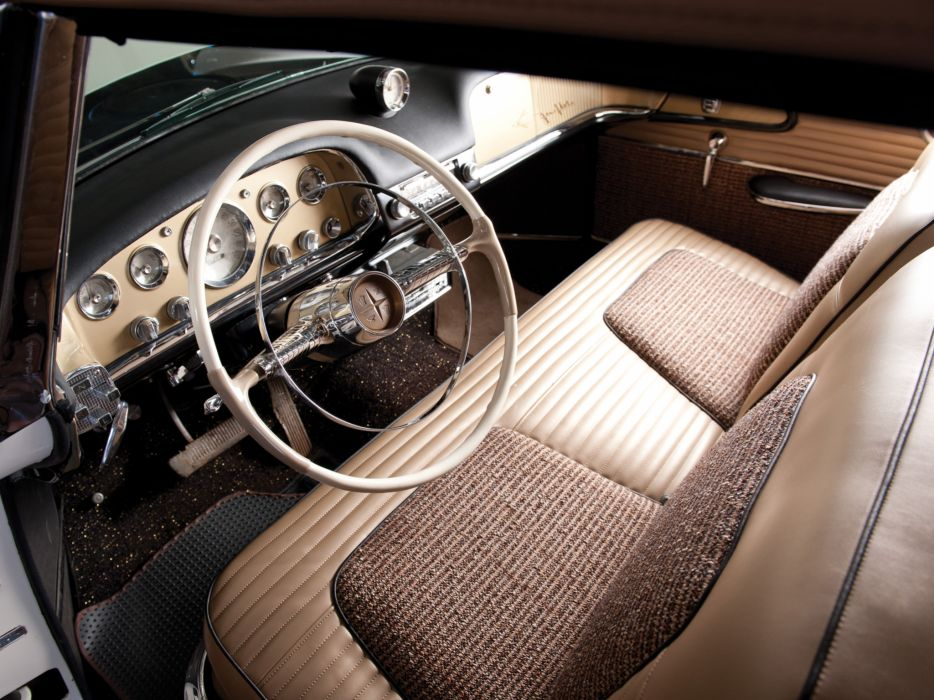 1956 DeSoto Fireflite Indy 500 Pacesetter S-24 race racing convertible interior     g wallpaper