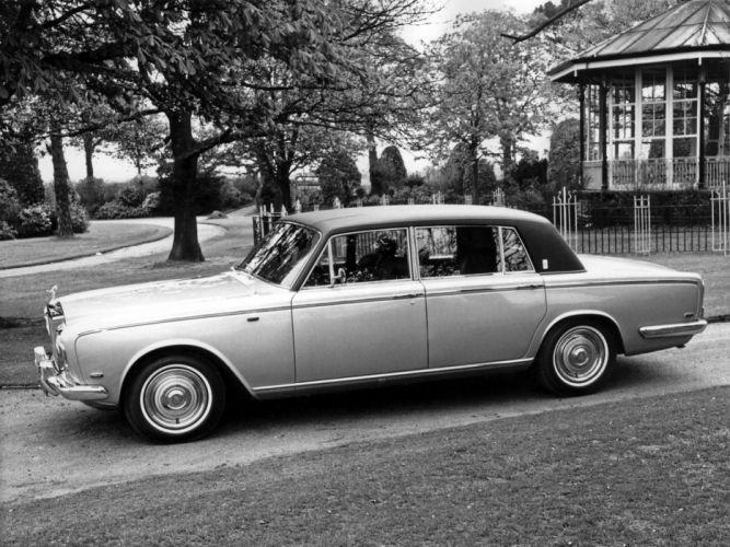 1969 Rolls Royce Silver Shadow LWB luxury classic wallpaper