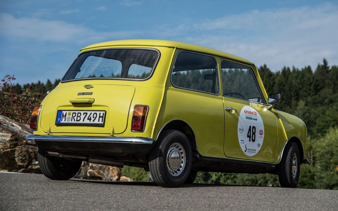 1974 Mr Beans Mini Cooper Mark III humor concept  nl wallpaper