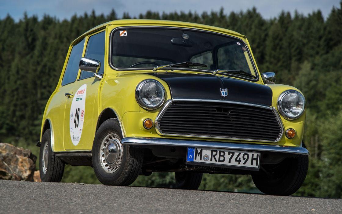 1974 Mr Beans Mini Cooper Mark III humor concept wallpaper