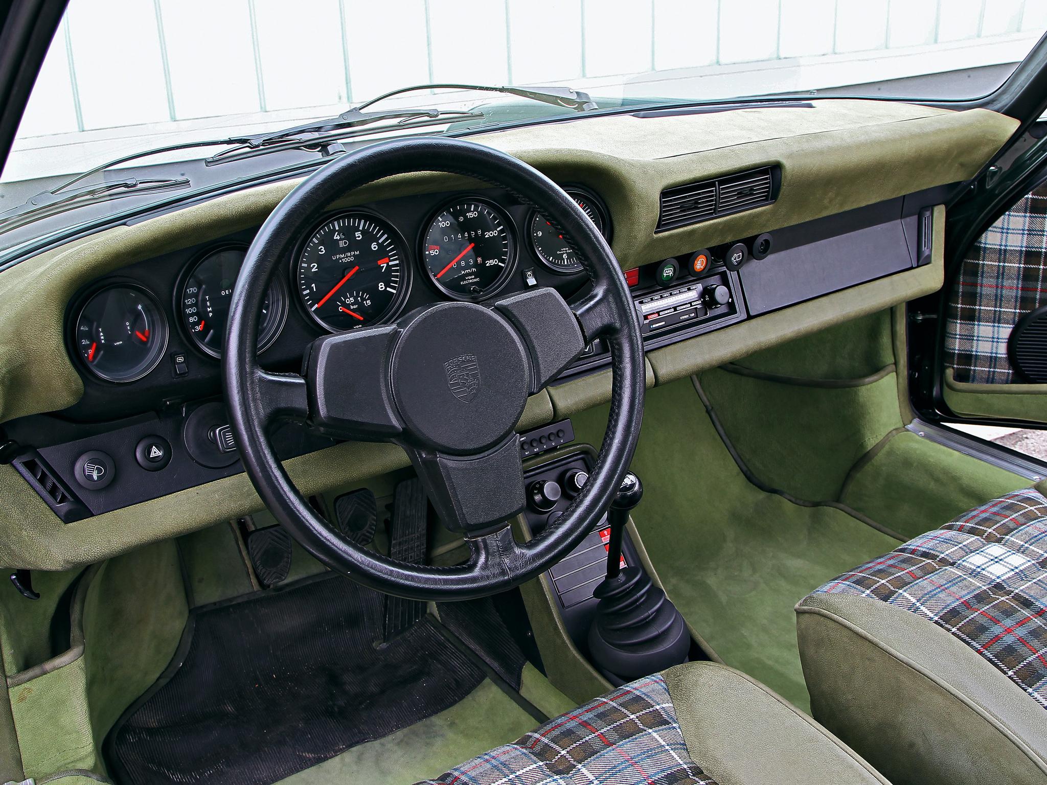 1975 Porsche 911 Turbo 3 0 Coupe 930 Supercar Interior G
