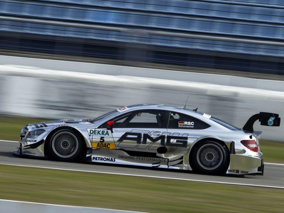 2012 Mercedes Benz C AMG DTM C204 race racing     d wallpaper