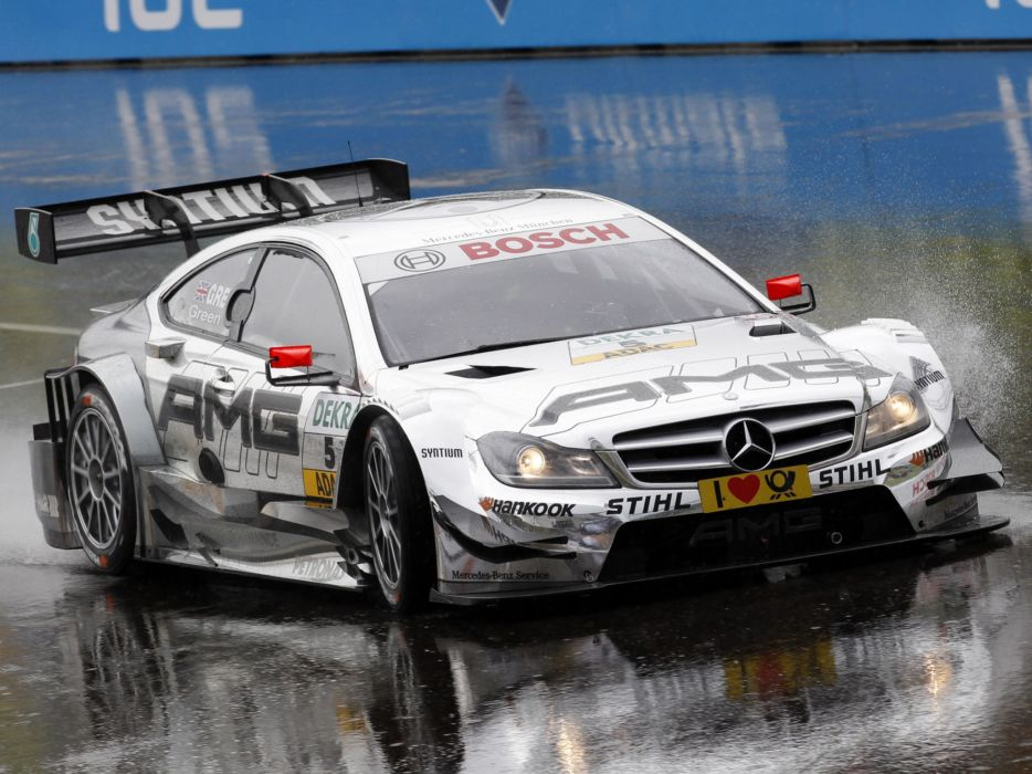 2012 Mercedes Benz C AMG DTM C204 race racing     f wallpaper